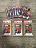 1990 Topps #757 Larry Walker HOF RC – 2 PSA 8 NM-MT - 1 PSA 6 - 7 Ungraded LOT