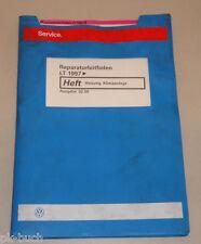 Werkstatthandbuch VW Transporter Bus LT Heizung Klimaanlage Stand 02/2000