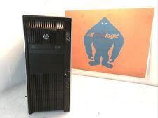 HP Z820 Workstation 2x E5-2609 2.40GHz 16gb Ram 1 TB HDD No OS 3x Nvidia J2729