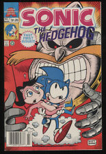 Sonic The Hedgehog #1-3 Set Limited Series Archie 3/1993 Movie Doctor Dr Eggman
