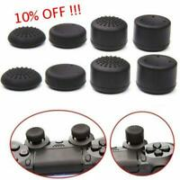 8Pcs Thumbstick Cap Rised Thumb Grip for  Playstation 4 PS4 Controller Black