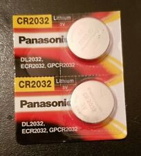 Pile Bouton CR2032 Panasonic X2