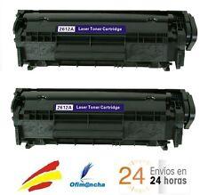 2 x Toner HP LaserJet 1010 1012 1015 1020 1022 Q2612A 12A