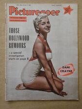 PICTUREGOER 1956 FEB 11 DANI CRAYNE DANNY KAYE MARILYN MONROE TARZAN RAINIER