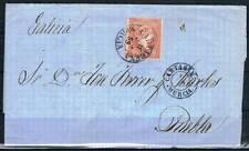 1859.- CARTAGENA (MURCIA) A PUEBLA DEL CARAMIÑAL