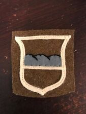 WWI US Army 80th Division patch wool