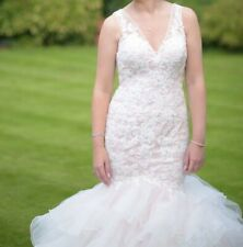 Blush Mori Lee Wedding dress + accessories