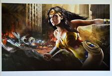 DC Universe Online - WONDER WOMAN Print DC
