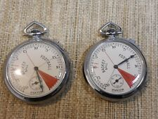 2 Vig Sports Timer Stop Watches PASTOR,Basketball,Football For Parts or Repair
