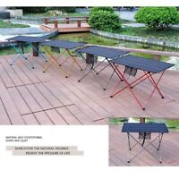 2X(Folding Table Bbq Picnic Table Portable Camping Table Camping Outdoor Fo