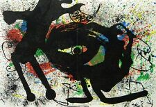 "Joan Miro original lithograph ""Sobreteixims"""
