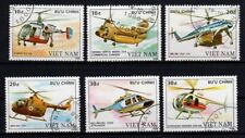 VIETNAM 1988 Air Stamps Used Aviation Airmail Planes