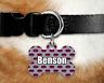 Custom Personalised Pet Tag Dog Name ID Tag For Collar Pet Tags - Pink Batman
