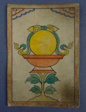 Fine Old Tibet Tibetan Offering Bowl TSAKLI THANGKA BUDDHIST BUDDHA PAINTING 30