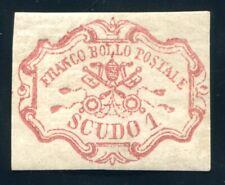 ITALIEN ALT KIRCHENSTAAT 1852 11 * TADELLOS ATTEST RAYBAUDI SASSONE 7000€(H5067