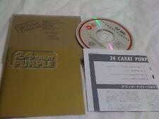 DEEP PURPLE / 24 carat purple / JAPAN LTD CD 18P2-3133