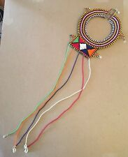 Tribal African Maasai Masai beaded collar Cleopatra necklace