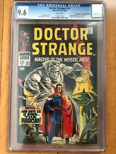 Doctor Strange #169 CGC 9.6 White Pages Pedigree Don/Maggie Thompson Collection