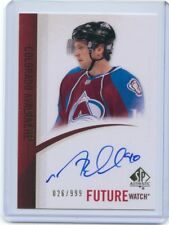 10/11 SP AUTHENTIC FUTURE WATCH ROOKIE RC AUTO MARK OLVER /999 AVALANCHE *53878