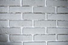 20m² Riemchen Verblender / Klinker Aus Beton, Innen U0026 Außen, Weiß