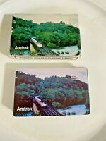 Vintage Scenic Amtrak Train Playing Cards Deck