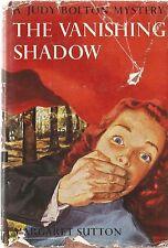 The Vanishing Shadow Judy Bolton Mystery Margaret Sutton Dustjacket
