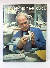 With Henry Moore: Artist at Work Photography Gemma Levine vintage hardcover 1978