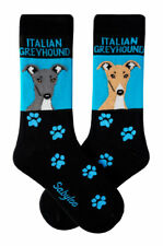 Italian Greyhound Crew Socks Unisex