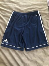 adidas Youth Squad 17 Soccer Shorts Navy Blue/White L Style BK4771 NWT