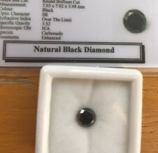Certified High Grade Loose Black Diamond 1.78ct