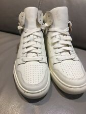 Polo Ralph Lauren Hi Tops Real Leather Ivory BNWB  RRP £200