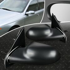 FOR 01-05 SATURN L LW LS L300 PAIR OE STYLE MANUAL ADJUSTMENT SIDE DOOR MIRROR