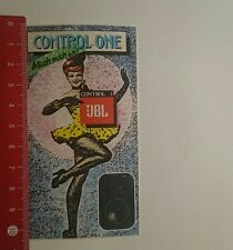 Aufkleber/Sticker: Control One JBL (200117132)