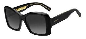 Givenchy GV 7186/S Black/Grey Shaded 57/17/140 women Sunglasses