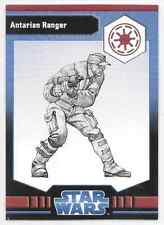 2009 Star Wars Miniatures Ja Antarian Ranger Stat Card Only