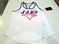 Toronto Blue Jays MLB Baseball Small Ladies Women Local Phase Pink Logo Tank Top
