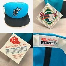 Vintage Florida Marlins New Era Pro Model Hat 5950 Diamond Collection  7¼ USA