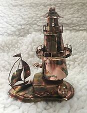Berkley Designs Metal Musical Lighthouse 'Light up my Life' Music Box