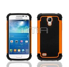 Impact Hybrid Shock Proof Case Cover For Samsung Galaxy S4 Mini i9190 - Orange