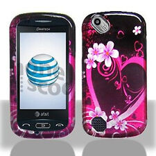 Purple Love Hard Case Cover for Pantech Laser P9050