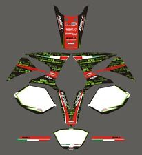 Yamaha DT 50 Monster 2010 - adesivi/adhesives/stickers/decal