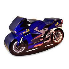 Implay Soft Play PVC Foam Children's Blue No.45 Superbike Rocker Activity Toy