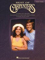 Best of Carpenters Sheet Music Easy Piano NEW 000306427