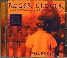 Roger Glover Snapshot CD NEW SEALED 2002 Deep Purple