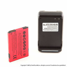 1800mAh Battery for HTC Droid incredible 6300 TOUCH PRO2 T7373 Dock Charger