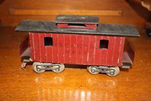 Antique Standard Gauge LIONEL 117 NYC & HRRR 4351 CABOOSE CAR No Reserve