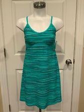 Athleta Teal & Turquoise Blue Sleeveless Athletic Dress, Size XSP
