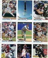 Uncut Full Sheet Of Sports Cards SI For Kids Brian Urlacher +8 Other Cards
