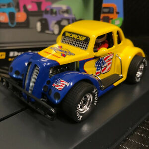 Pioneer P130 Legends '37 Dodge Coupe Sunoco #15 Slot Car 1/32 Scalextric DPR
