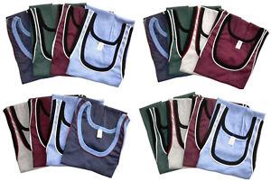 4 Stück Herren Unterhemd   Achselhemd   Tanktop   5 Farben  Feinripp